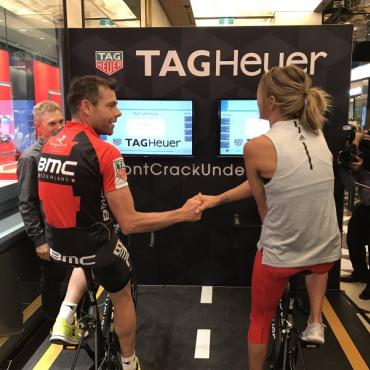 Virtual Cycling with Cadel