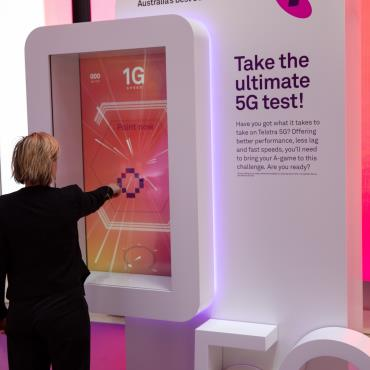 Contactless Game - Telstra