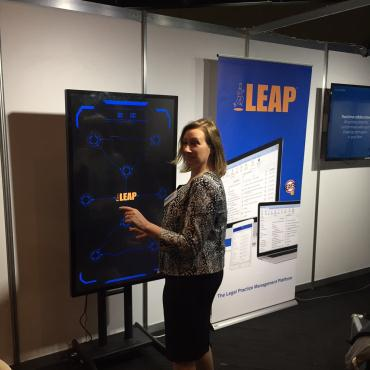 LEAP Speed - Conference Fun in Brisbane