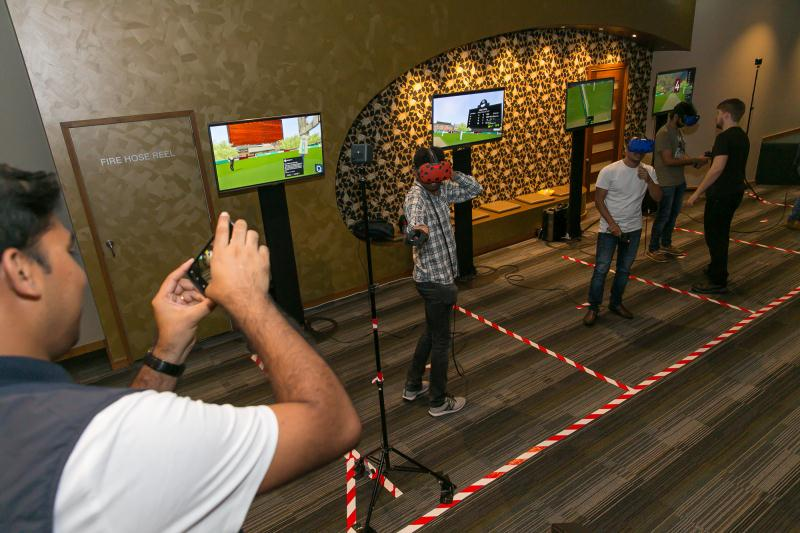 Cricket VR in Melbourne
